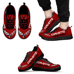 Red Corvette Shoes | Men's Sneakers Running Shoes | Athletic Shoes - Top Gifts.