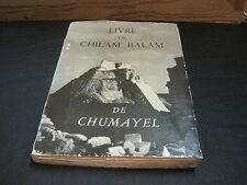 Benjamin PERET: Le Livre de Chilam Balam de Chumayel