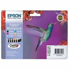 Genuine EPSON Original T0807 Inks P50 Px650 PX700W BN
