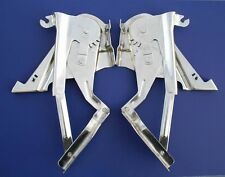 57 Chevy Polished Stainless Hood Hinges *NEW* 1957 Chevrolet