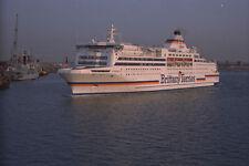 669061 Brittany Ferries Normandie en Portsmouth A4 Foto Impresión