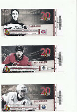 OTTAWA SENATORS VS MONTREAL CANADIENS FULL TICKET STUB 12/27/11 P.K. SUBBAN GOAL