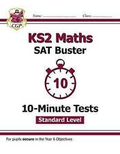 KS2 Maths 10 Minute Tests Standard Level CGP New SATS 9781782946823 MLFXP21