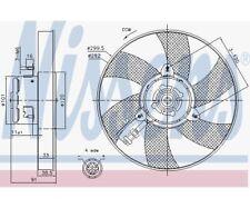 NISSENS Fan, radiator 85748