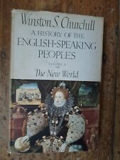 Winston Churchill: 1956 1st Edition of 'The New World' with original DJ