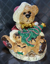 "Boyds Cookie Jar, ""Grenville The Santa Bear"", #390003"
