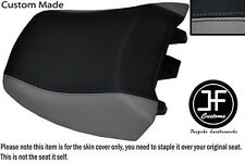 BLACK & GREY VINYL CUSTOM FITS BMW R 1150RT 00-06 R 1100RT 94-01 REAR SEAT COVER
