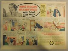 Fleischmann's Yeast Ad: What's The Good Of A New Dress ! Pimples! 1930's