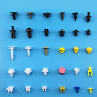 Car Auto Various Plastic Rivet Fasteners Push Pin Bumper Fender Panel 200pc/bag