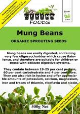 Mung Beans 500g Organic  ( Sprouting Seeds , Sprouts )