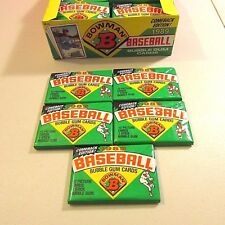 1989 Bowman Unopened Wax Pack Of Baseball Cards Comeback Edition LOT OF 5 PACKS