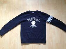 Esprit 128/134 schwarzer Pullover aus Baumwolle