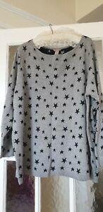 NWT Grey Star Jumper By H&M, Size 3XL