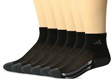 644eed10c24ac Agron Socks adidas Youth Cushioned 6pk Quarter Sock- Select SZ/Color.