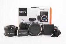 Sony Alpha A5000 Digital Camera w/ 16-50mm OSS Lens Kit; BL 412059