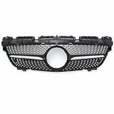 Diomand ABS Front Grille Grill for Benz SLK Class R172 200 250 350 12-16 Silver