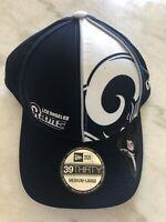 Los Angeles Rams New Era Flex Hat Cap Blue Size M/L Nfl Football