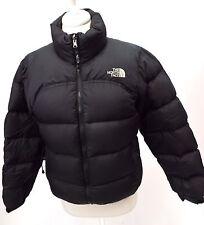 Ladies THE NORTH FACE Black Puffa Padded Outdoor Coat Jacket Medium - S22