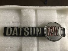 Datsun 120y Side Genuine Badge (Right)