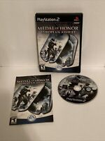 Medal of Honor: European Assault (Sony PlayStation 2, 2005) Complete - Tested