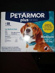 PETARMOR Plus for Dogs 23-44lbs. 3 Applications
