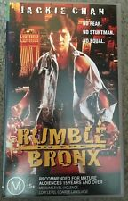 Rumble In The Bronx VHS TAPE (1995 Jackie Chan action comedy movie)