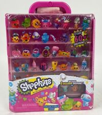 Shopkins Collectors Case w/ 2 Exclusive Shopkins Figures