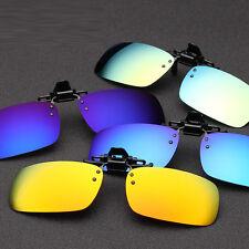 Guida Pesca Clip-on Specchio UV400 Occhiali da sole Lenti Outdoor