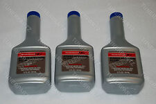 3 x BOTTLE NEW GENUINE OEM HONDA Power Steering Pump OIL 12oz Fluid