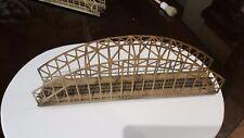 MARKLIN  échelle ho rampe de pont suspendu en métal brun clair ref 467