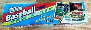 1992 Topps Baseball Factory Set Complete Sealed 1-792 MLB Baseball + 10 Gold