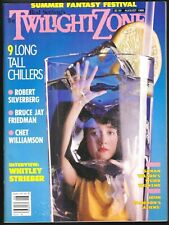 Twilight Zone V 6 # 3 1986 Science Fiction Horror Magazine Aliens Solarbabies