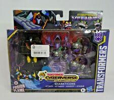 Transformers Cyberverse Sharkticons Attack Cybertronian Villains Figure set