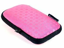 NEW Vanguard Malmo 6c Camera Pouch with Strap (Pink) - Free UK Postage