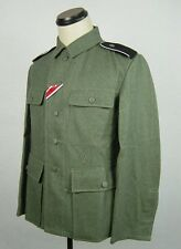 WWII German M43 EM Wool Field Grey Tunic Elite