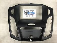 FORD OEM 15-18 Focus Instrument Panel Dash-Center Bezel Trim F1EZ-18842-DB