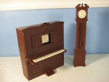 "Player Piano Grandfather Clock Victorian Ideal Judy 12"" Fashion Doll Furniture"