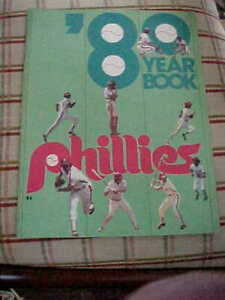 1980 Philadelphia Phillies Baseball Official Yearbook