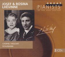 Josef & Rosina Lhevinne - 2 CD-Chopin/Mozart/Schumann
