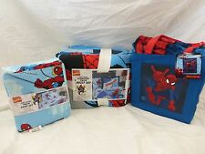 6 pc Marvel Comics The Amazing Spider-man Collection Twin Quilt Bedding Set NIP