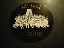 RIPNDIP Skate Sticker HAIL CAT MIDDLE FINGER rip n dip skateboards helmets decal