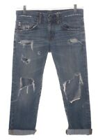 Vintage AG Adriano Goldschmied Boyfriend Fit Distressed Denim Jeans Size 26