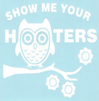BETTY BOOP HOOTERS VINYL DECAL A5336