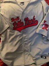 arkansas travelers retro east little rock jersey size 3xl unworn mike trout