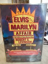 THE ELVIS and MARILYN AFFAIR Signed by ROBERT LEVINSON 1999 1st Ed. Mylar Cover