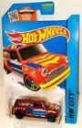 Hot Wheels - 27/250 67 Austin Mini Van Red (short or long card)
