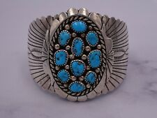 RB Sterling Turquoise Cuff Bracelet