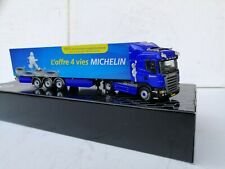 1:50  WSI SCANIA R 380 Special Make Dealer Michelin Truck& Trailer AS New Selten