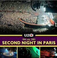 Fichier video .vob Elevation Tour concert u2 Live Bercy 18 juillet 2001 pour dvd