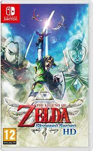 Jeu Switch The Legend of Zelda : Skyward Sword HD